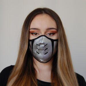 Reveil mascherina conchiglia argento