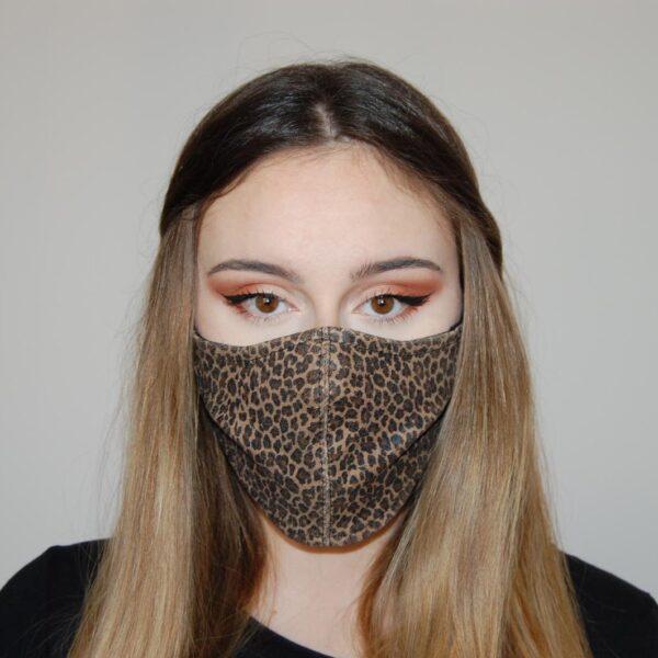 Reveil mascherina animalier